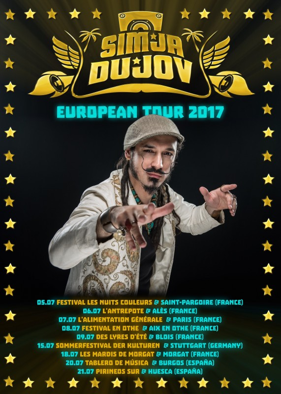SIMJA DUJOV | EUROPEAN TOUR 2017