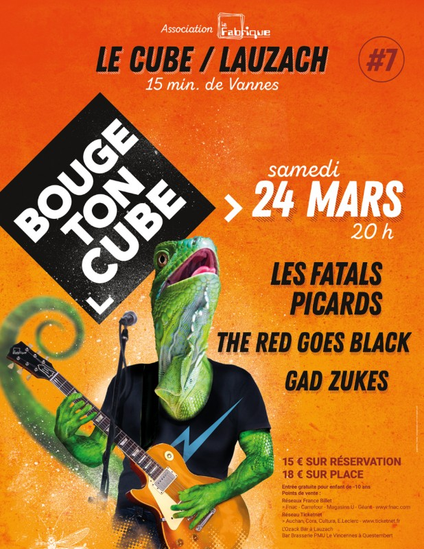 The Red Goes Black | Festival Bouge Ton Cube