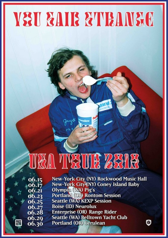 You Said Strange : USA TOUR