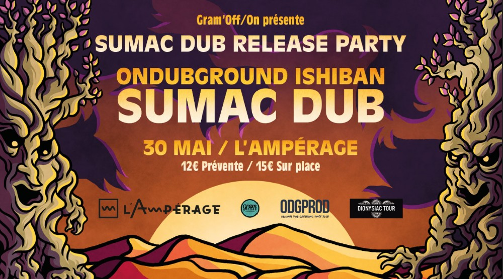[Annulé] Sumac Dub - Release Party